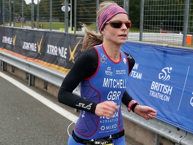Mixd Sponsor Team GB Duathlon Athlete