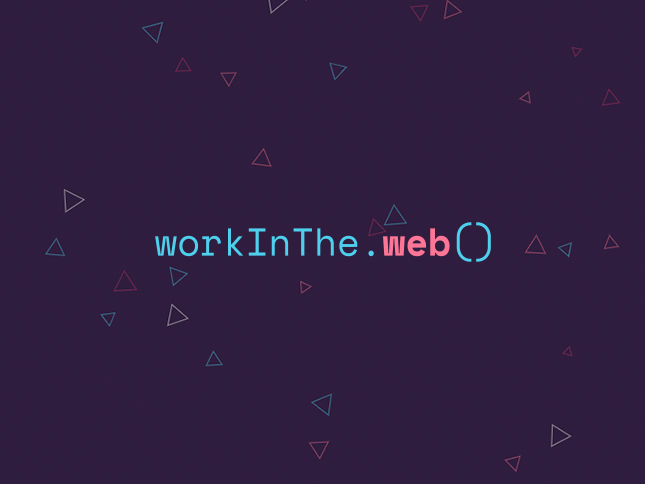 Work in the Web 2020